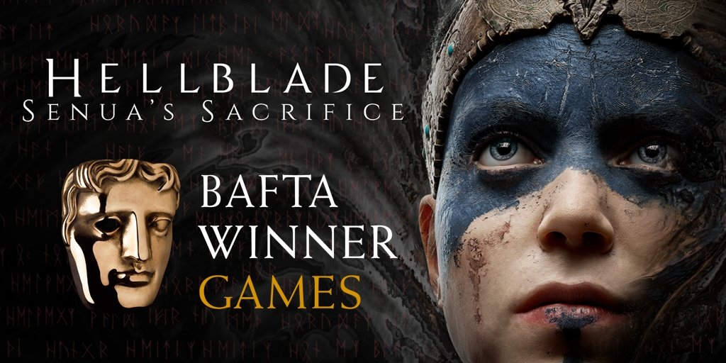 Hellblade: PC game BAFTA Award winning